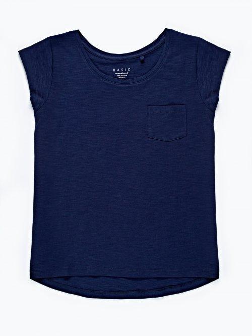 Basic cotton t-shirt with pocket