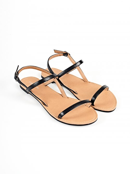 Basic strappy flat sandals