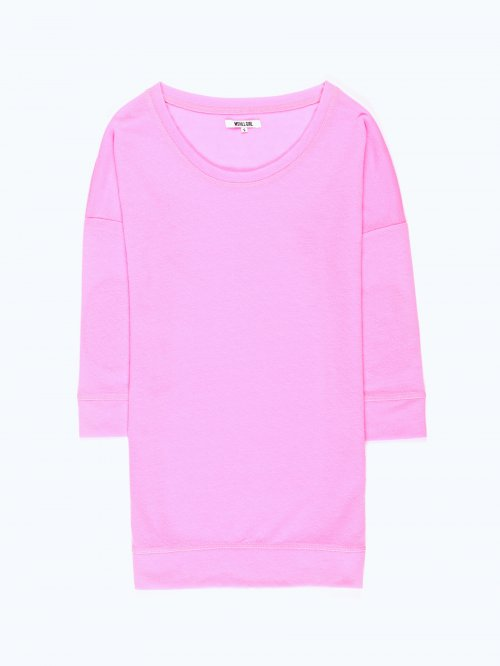 Elbow patch t-shirt
