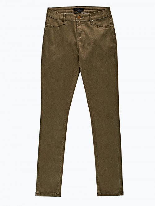 Push-up skinny trousers