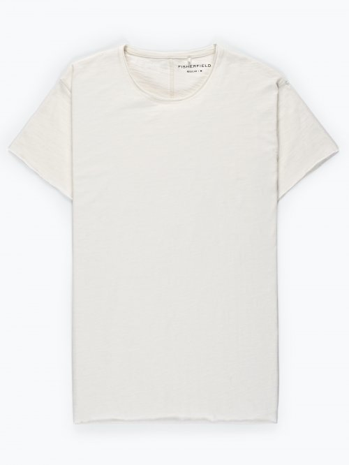 Raw edges t-shirt