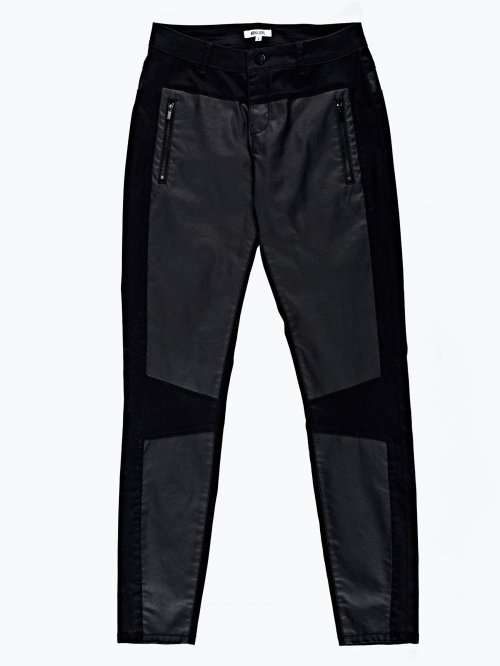 Combined skinny trousers