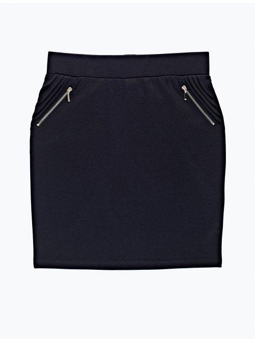 Pencil skirt with zipper details