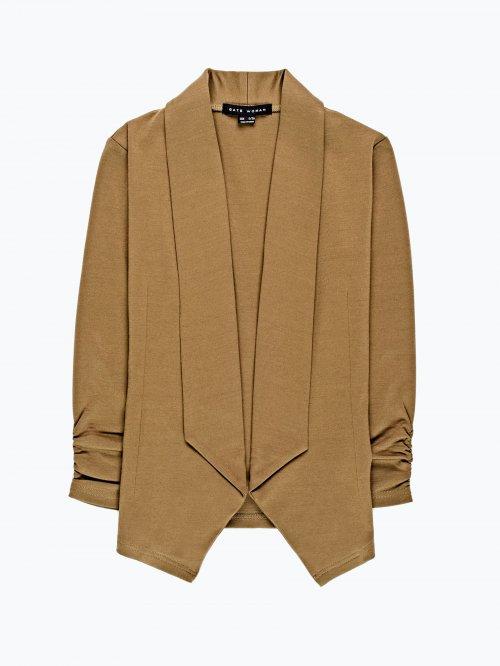 Basic knitted blazer