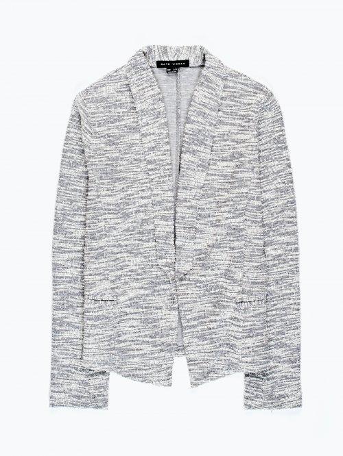 Marled blazer