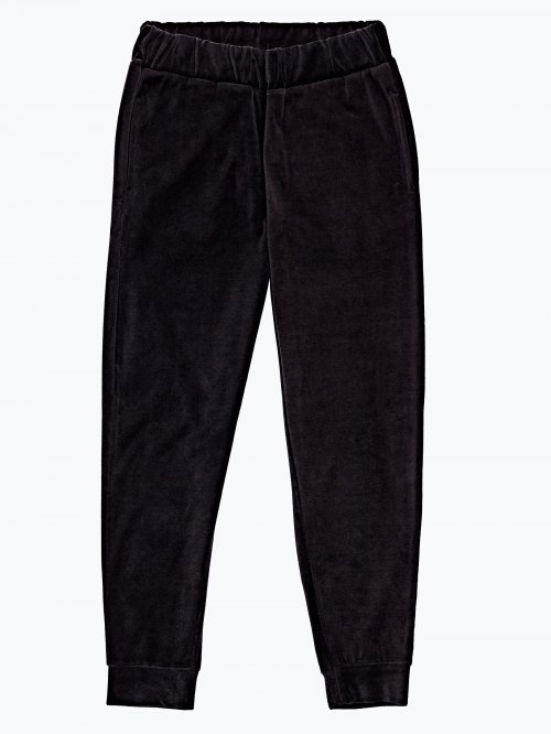 Velvet sweatpants