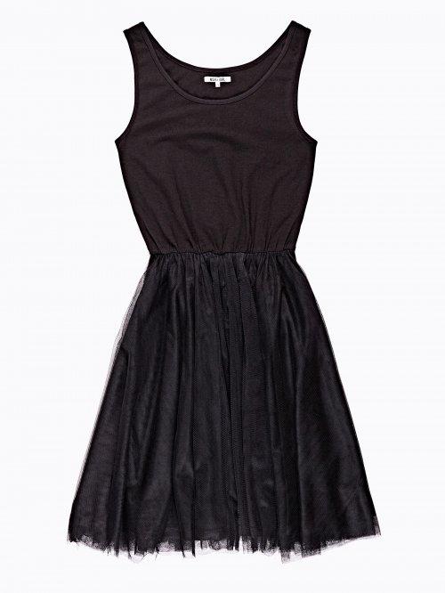 Sleeveless ballerina dress