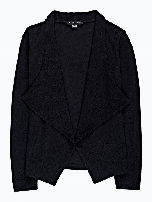 Draped blazer