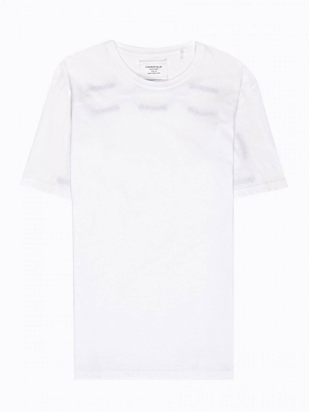Oversized t-shirt with back lacing