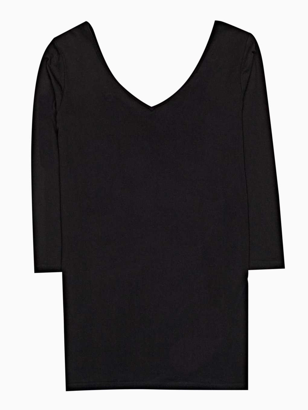 Viscose top with ribbon detail