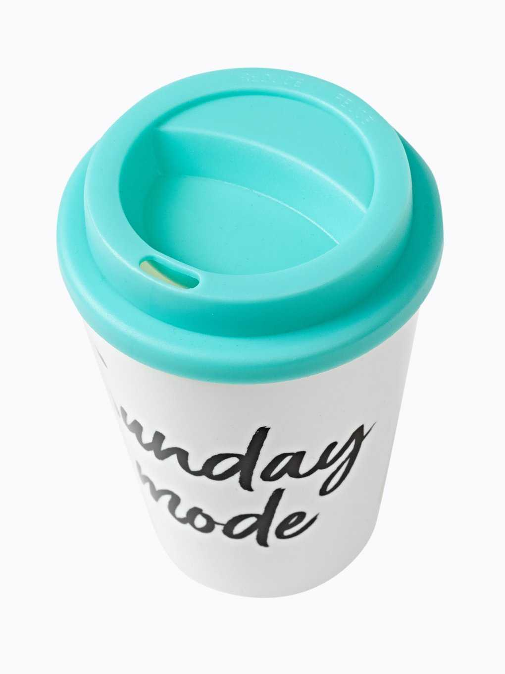 Plastic cup with message print