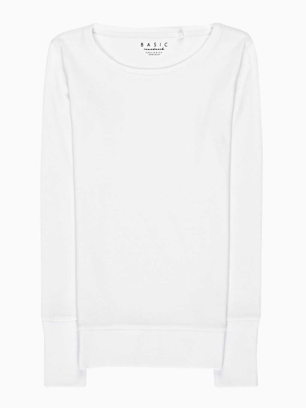 Basic rib-knit t-shirt
