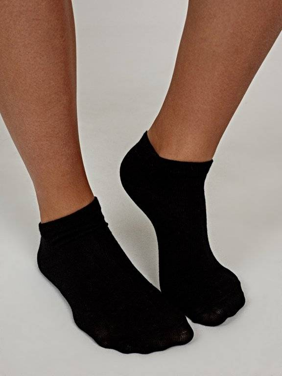 2-pack basic ankle socks