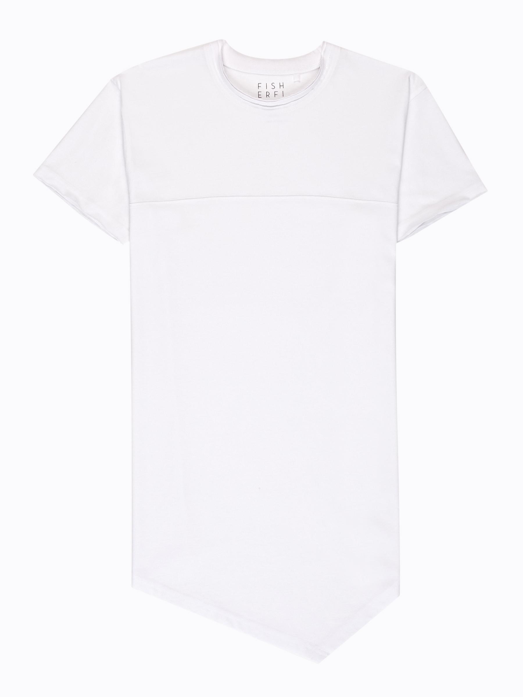 GATE Dlhé tričko asymetrického strihu