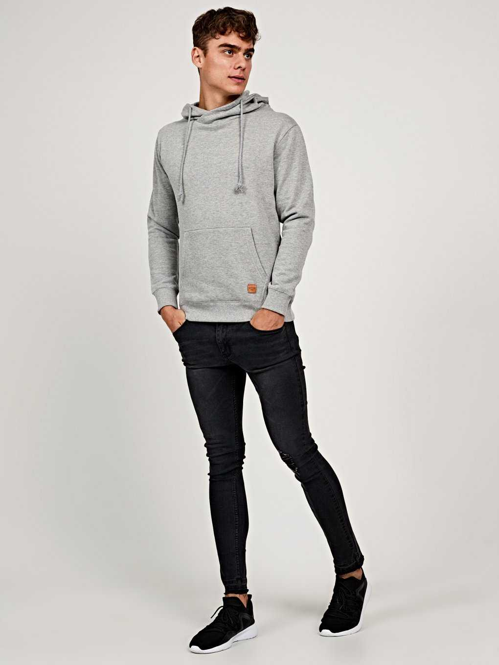 Hoodie with kangaroo pocket