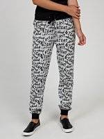 Printed sweatpants
