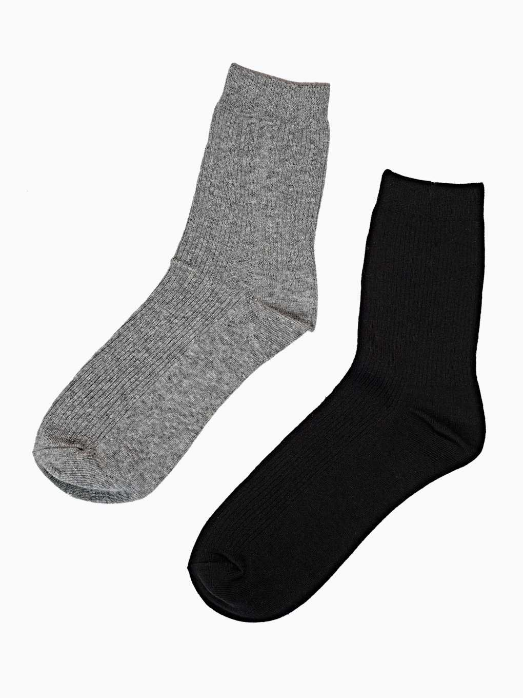 2-pack basic crew socks