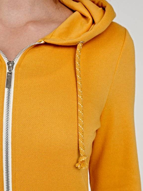 Basic zip-up hoody