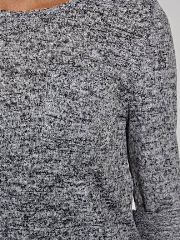 Longline jumper with pocket