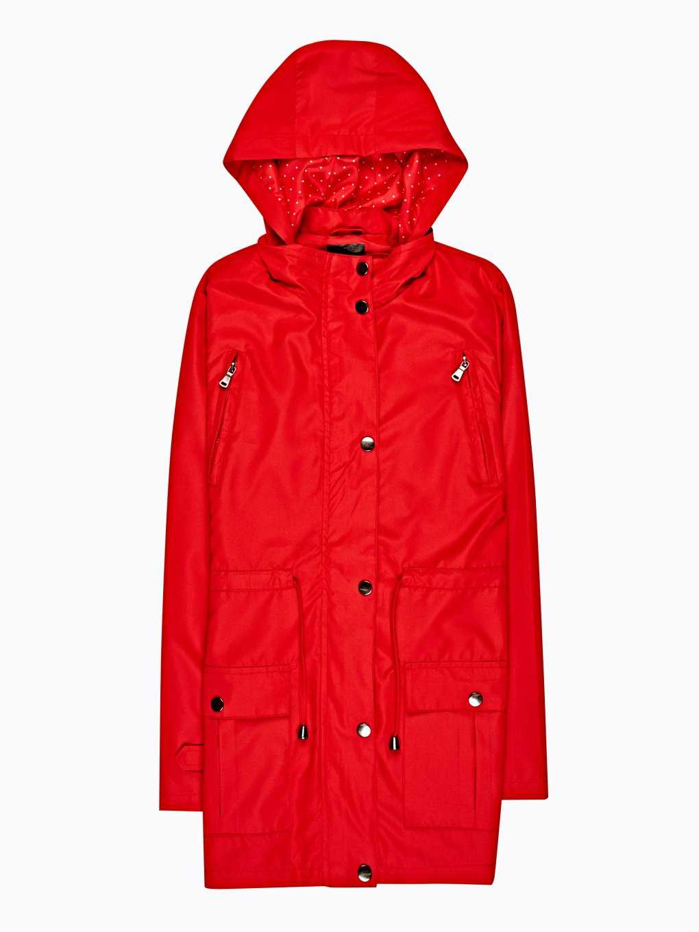 Light parka with hood