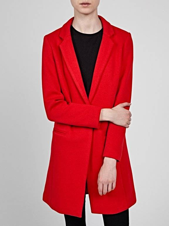 Single button lonngline blazer