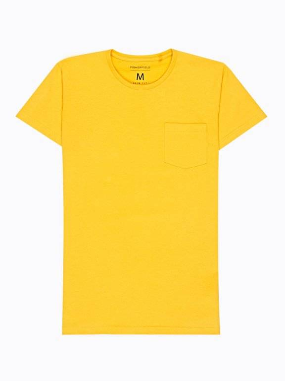 BASIC SLIM FIT T-SHIRT WITH CHEST POCKET
