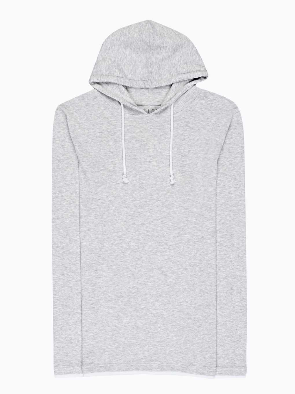 HOODED T-SHIRT WITH LONG SLEEVE
