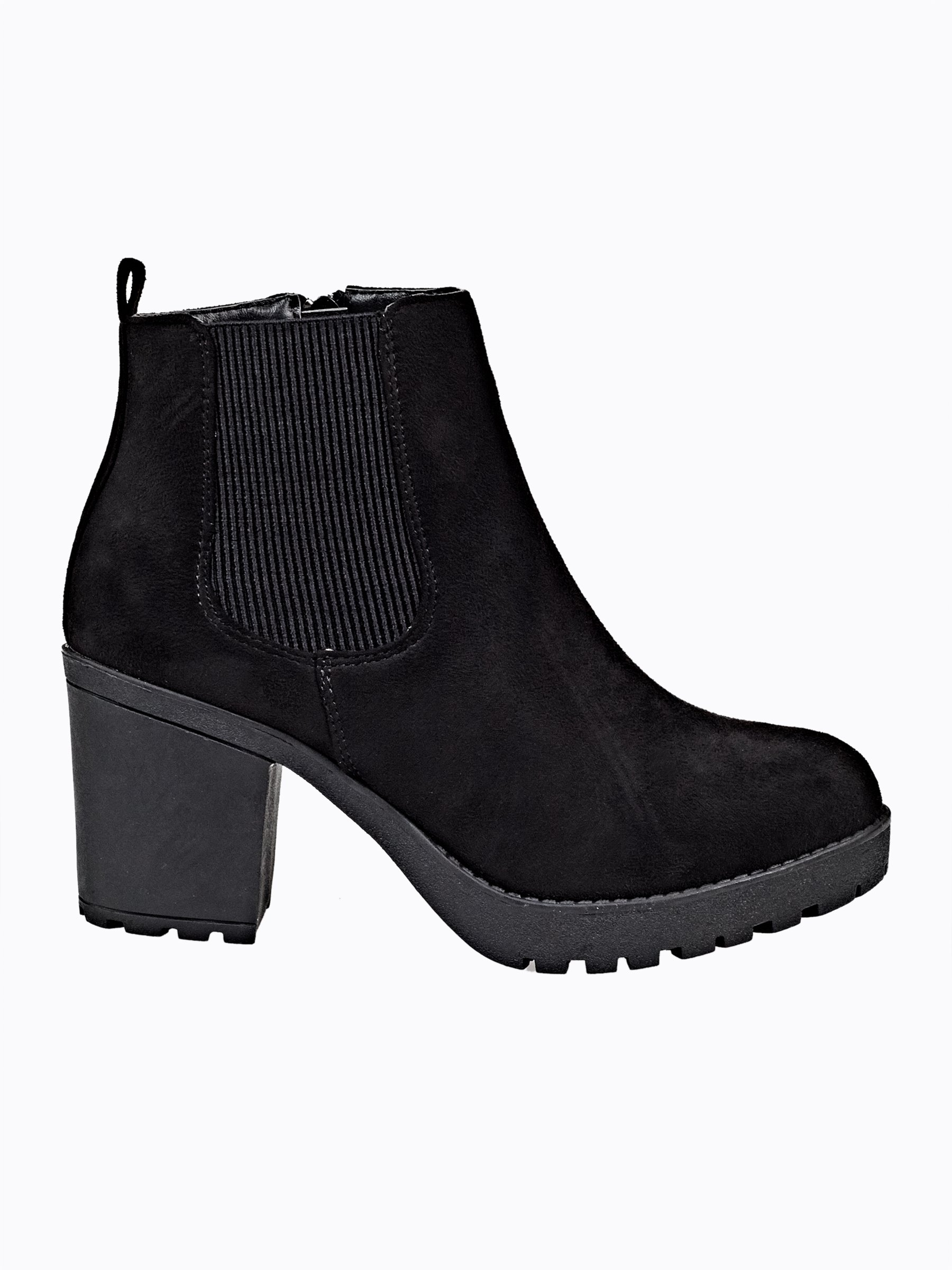 1396965b1fa High heel ankle boots with track sole | GATE