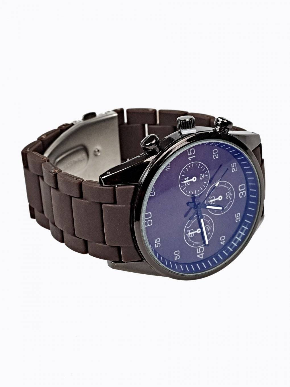 WATCH WITH SILICONE STRAP