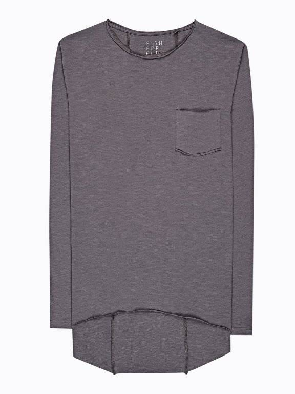SLUB JERSEY T-SHIRT WITH CHEST POCKET