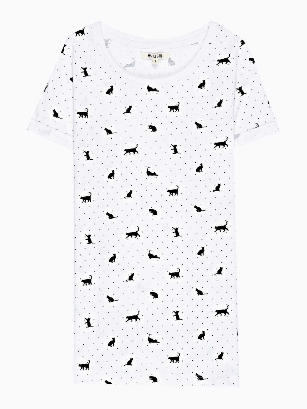 KITTY PRINT T-SHIRT