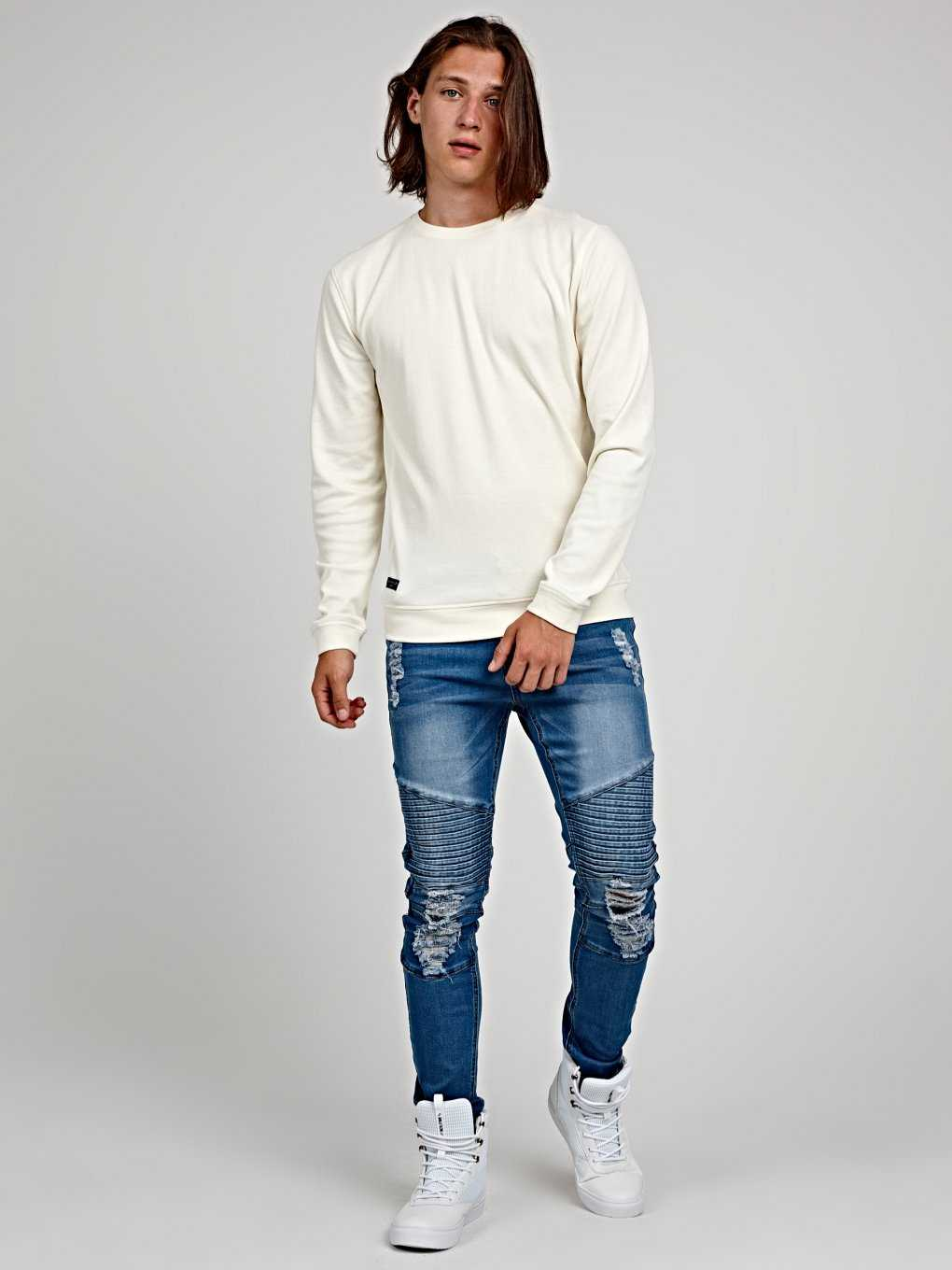 REGULAR FIT T-SHIRT WITH LONG SLEEVE