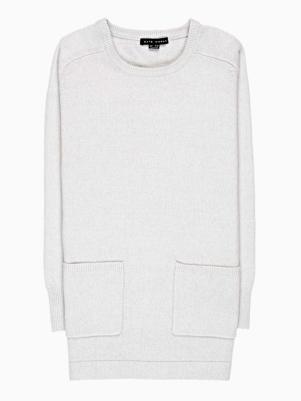LONGLINE JUMPER WITH POCKETS