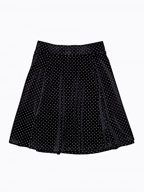 POLKA DOT MINI SKATER SKIRT