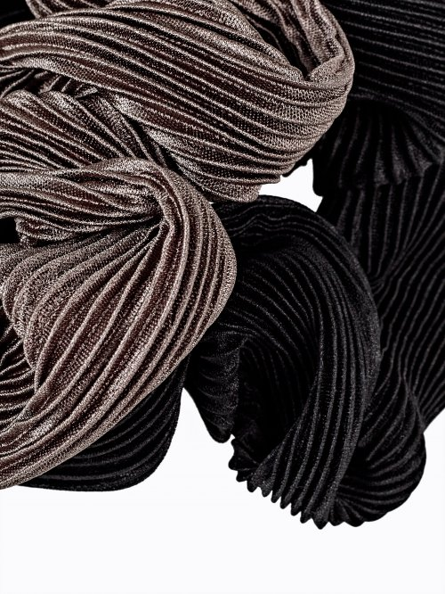 2-pack pleated rubber bands set