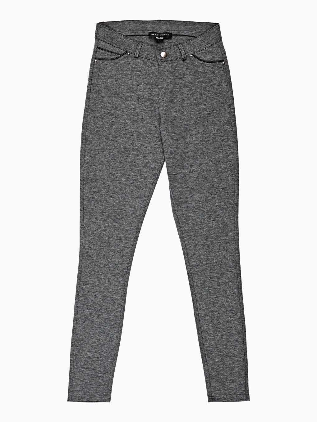 KNITTED SLIM FIT TROUSERS