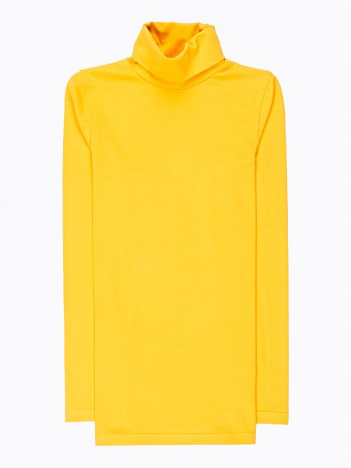 STRETCH TURTLENECK T-SHIRT