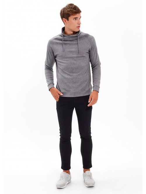 TURTLENECK T-SHIRT WITH LONG SLEEVE