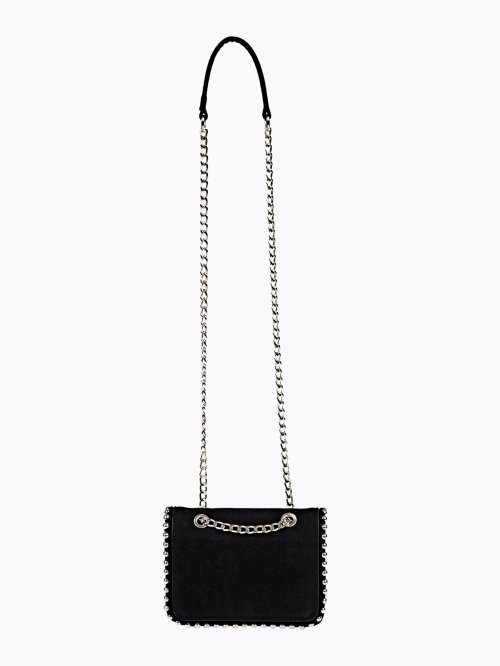 STUDDED CROSS BODY BAG