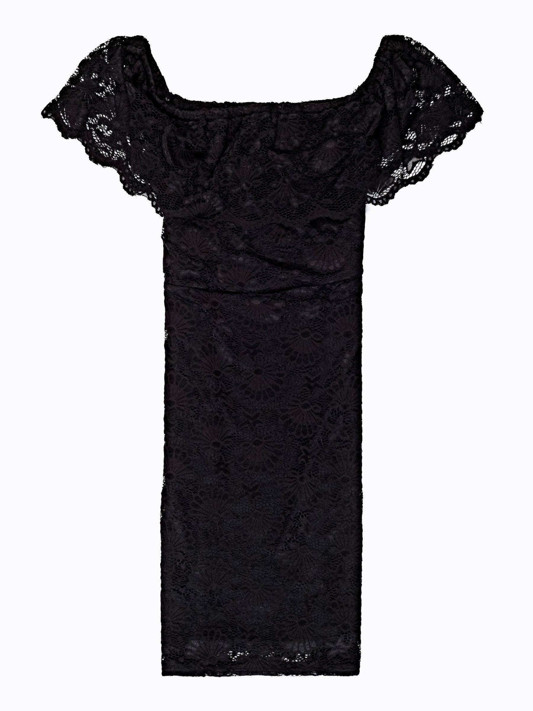 b33541ae669 Krajkové pouzdrové šaty s odhalenými rameny