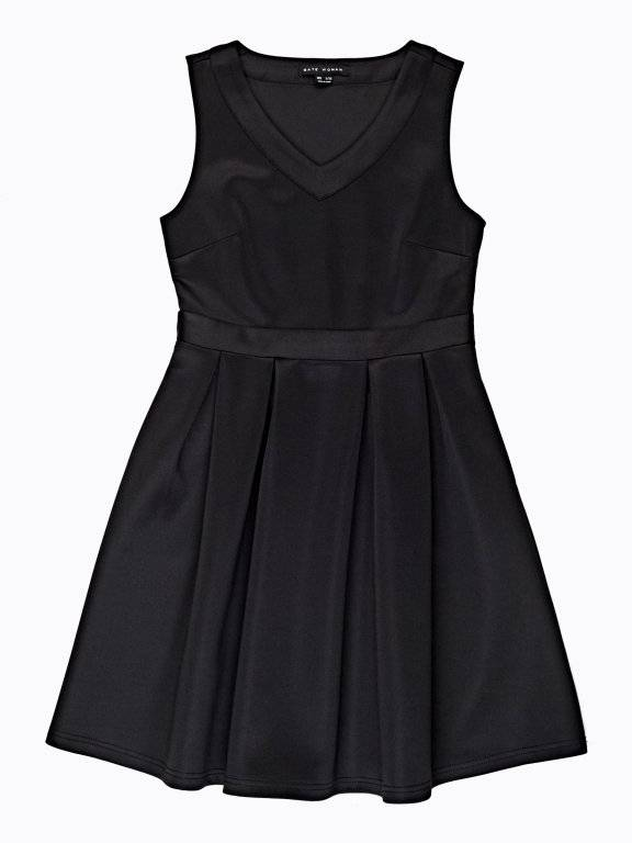 BALLERINA DRESS WITH SIDE POCKETS