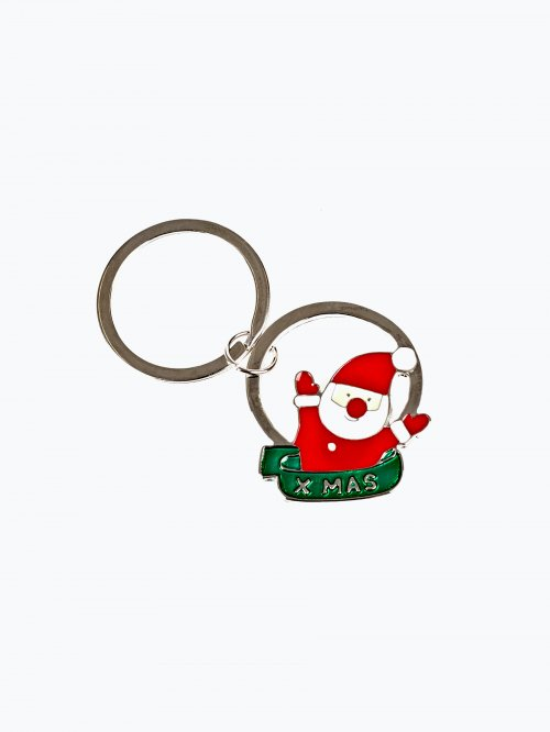 Santa Claus key ring