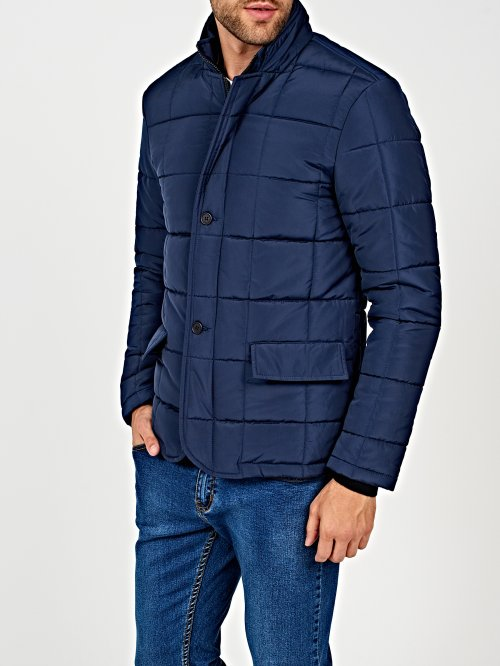 Quilted light padded blazer
