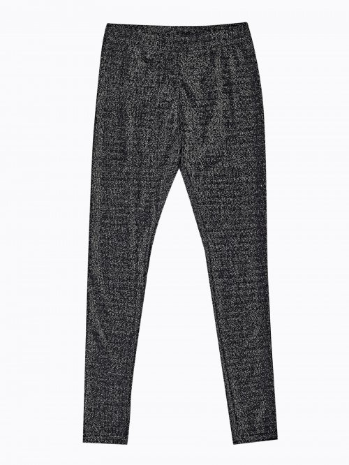 LEGGINGS WITH METALLIC FIBRE
