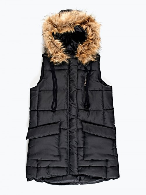 Prolonged hooded vest
