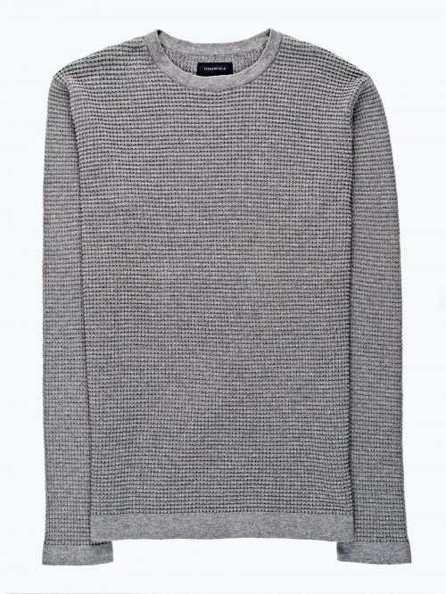 Structured sweater