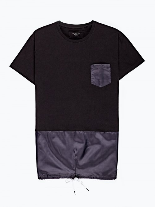 Combined t-shirt with pocket