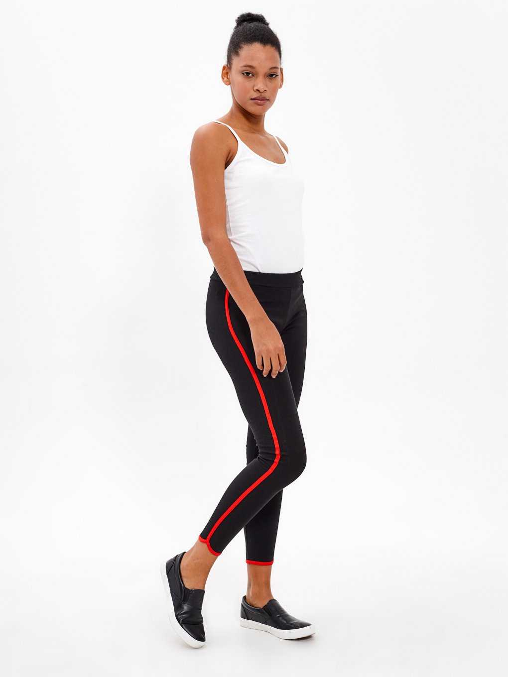 LEGGINGS WITH SIDE STRIPE