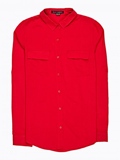Basic viscose shirt