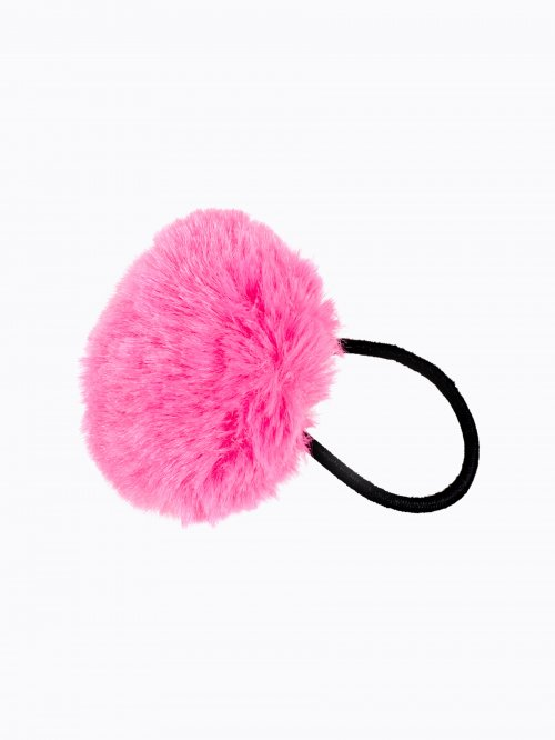 Pompom rubber band
